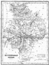 HUNTS : Huntingdonshire : Fullarton, 1844 map (o)